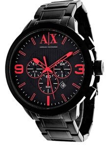 Armani Exchange ARMANI EXCHANGE WATCH AX1352 ATLC BLACK ION STAINLESS 49MM