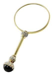 Vintage Magnifying Glass Crystal Embellished Collectible Magnifying Glass