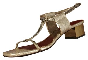 Lanvin Metallic Sandals
