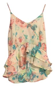 ASTR Floral Top Yellow