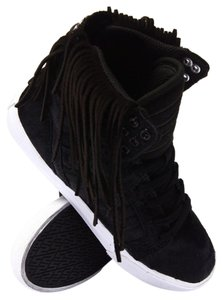 Supra Fringe Hem Pony Hair Black Athletic