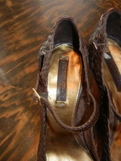 BCBGMAXAZRIA Brown Platforms