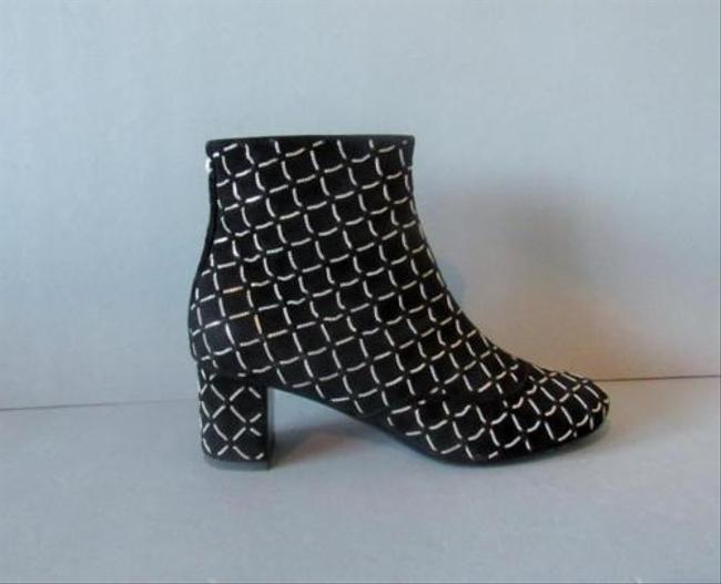 Item - Black 15a Suede Chain Ankle Boots/Booties Size EU 36 (Approx. US 6) Regular (M, B)