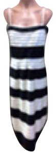 Black and white Maxi Dress by BCBGMAXAZRIA