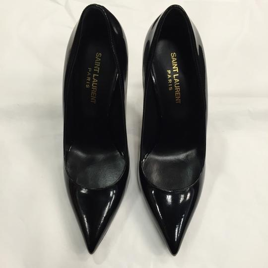 Saint Laurent Black Patent Pumps