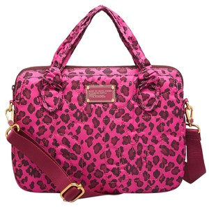 "Marc by Marc Jacobs Exclusive Sasha Leopard Pretty Nylon 13"" Laptop Commuter Case"
