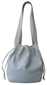 Coach Chalk White Drawstring Vintage Italy Shoulder Bag
