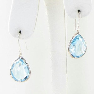 Ippolita Ippolita Rock Candy Earrings Blue Topaz Drops Sterling Silver