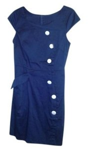 Sunny Girl short dress Navy Madmen Modcloth Sailor Vintage on Tradesy