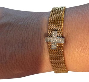 Other elastic bracelet cross with diamonds