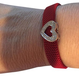 Other elastic bracelet heart with diamonds