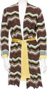 Missoni short dress Multi-color Cardigan Knit Belted on Tradesy