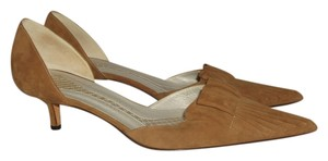 Anya Hindmarch Tan Pumps