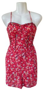 Urban Outfitters Band Of Gypsies Floral Stretch Dress