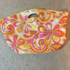 Clinique Tote in Multi Floral