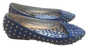 Dollhouse Blue Flats