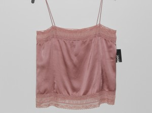 DKNY Donna Karan Silk Top Blush