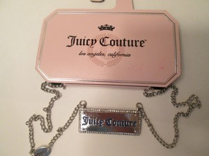 Juicy Couture Juicy Couture Necklace, silver color, costume jewelry