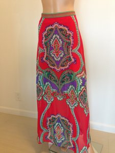 Hale Bob Maxi Skirt Multi