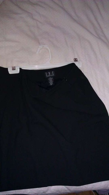INC International Concepts 10 Petite; Basic; Lbd Mini Skirt Black