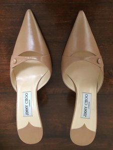 Jimmy Choo Brown (Camel) Mules