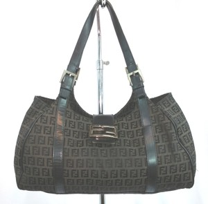 Fendi Monogram Brown Tote