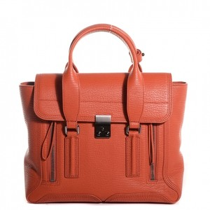 3.1 Phillip Lim Pashli Satchel in Persimmon