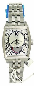 Perrelet Men Perrelet A1017/A Automatic Stainless Steel Power Reserve Date Watc