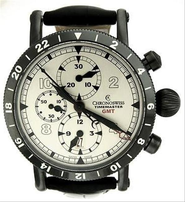 Item - Silver Box Timemaster Ch7533 Gmt 44mm Papers Watch