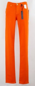 Juicy Couture Juicy Couture 27 X Tiki Torch Orange Skinny B47 Skinny Jeans