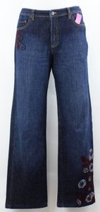 Talbots X Dark Denim Boot Cut Jeans