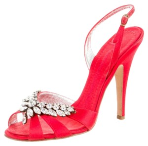 Giuseppe Zanotti Guy Blings Gz Blings Formal Red Sandals