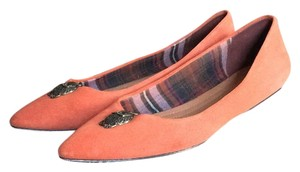 Brooks Brothers Orange Flats