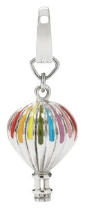Fossil Fossil Hot Air Balloon Silver Tone Charm Pendant Stainless Steel JF00680040