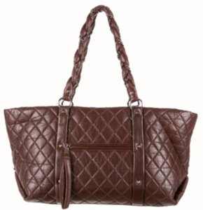 Chanel Satchel in Dark Brown