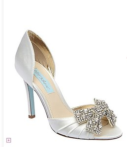 Betsey Johnson Blue By Betsey Johnson Gown Wedding Shoes