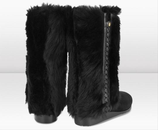 Jimmy Choo Clover Black Boots