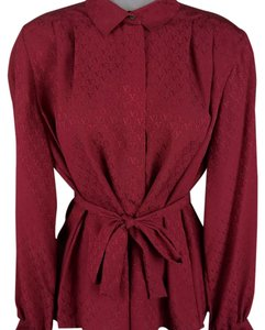 Valentino Top Maroon/red