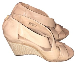 Cole Haan Beige / cream Wedges