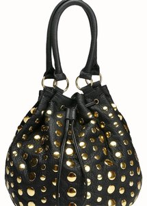 deux lux Studded Hobo Bag