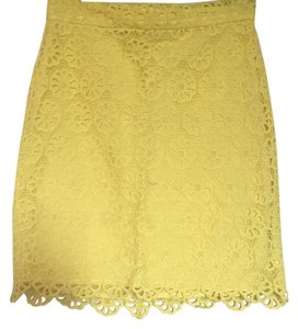 French Connection Skirt Yellow