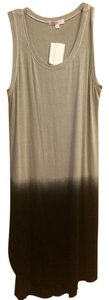 Grey Black Ombre Maxi Dress by Socialite