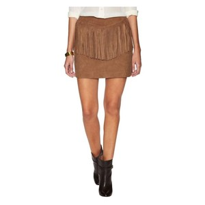 W118 by Walter Baker Mini Skirt Brown