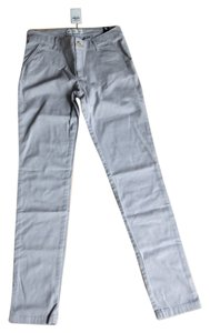 Abercrombie & Fitch Stone Slim Straight Pants Gray