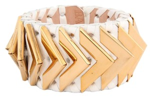 Balmain Small,Off,White,Napa,Leather,Greta,Cuff