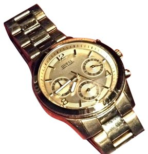 Guess Guess women's gold watch