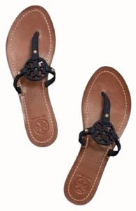 Tory Burch Navy Sandals