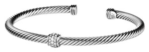 David Yurman Cable Classics Bracelet with Diamonds (Small)