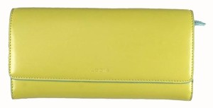 Lodis Wallet Passport Audrey Yellow Clutch