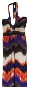 Brown/orange/beige/purple Maxi Dress by bebe